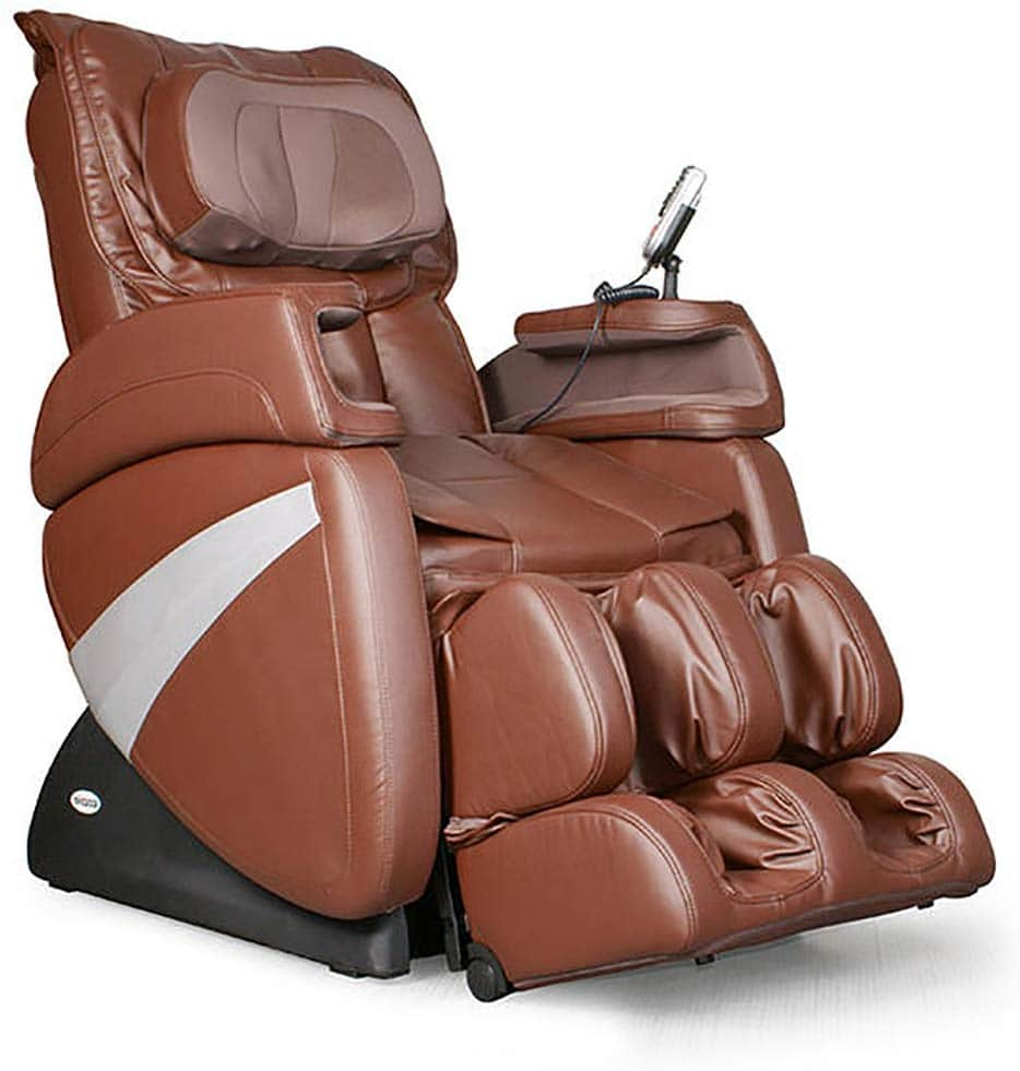 Cozzia-Robotic-Massage-Chair-Brown